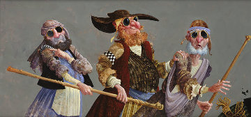 Blind Leading the Blind 2007 Limited Edition Print by James Christensen