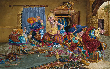 Getting It Right Limited Edition Print by James Christensen
