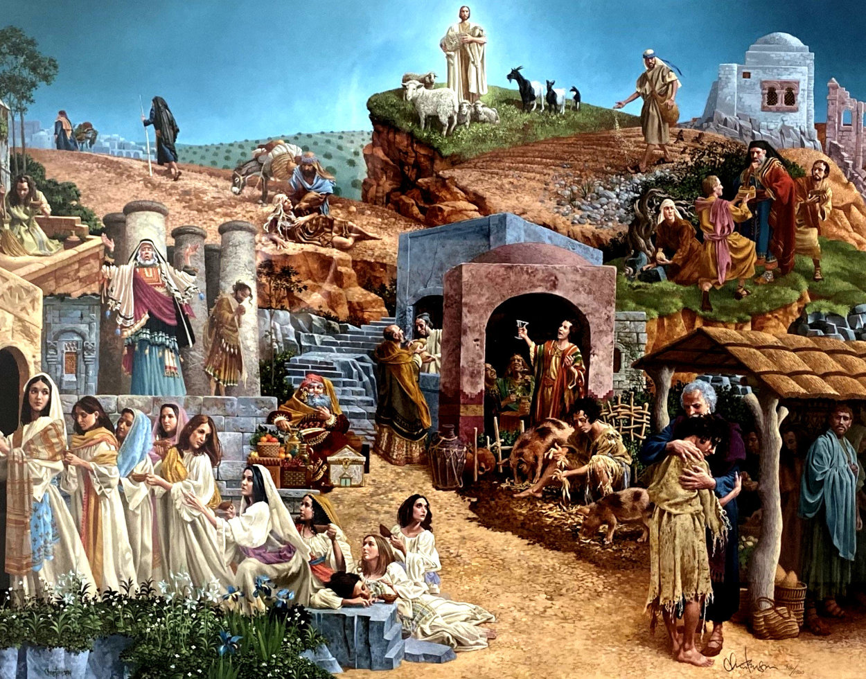 Parable Of The Ten Virgins 1999 Limited Edition Print by James Christensen