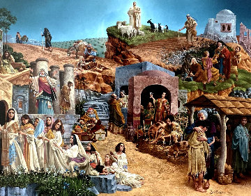 Parable Of The Ten Virgins 1999 Limited Edition Print - James Christensen