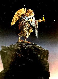 Oldest Angel Limited Edition Print by James Christensen