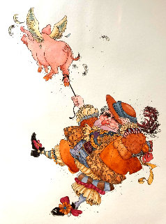 Diggery Diggery 1990 Limited Edition Print by James Christensen