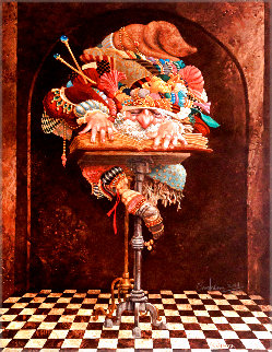 Scholar 1990 Limited Edition Print - James Christensen
