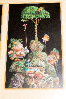 Six Bird Hunters in Full Camouflage, Set of 3 Prints in 1 Frame 1994 Limited Edition Print by James Christensen - 3