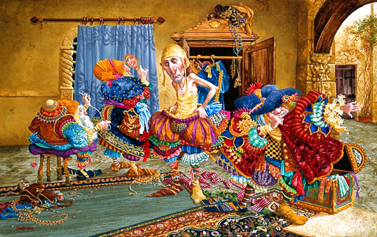 Getting It Right 1993 Limited Edition Print by James Christensen