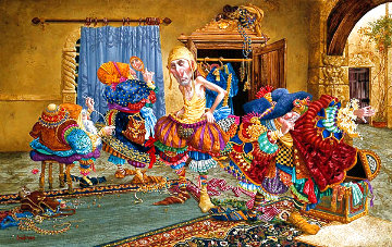 Getting It Right 1993 Limited Edition Print - James Christensen