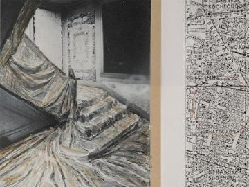 Wrapped Staircase, Paris 2001 Limited Edition Print by Javacheff   Christo