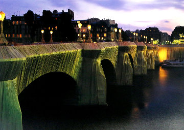 Pont-Neuf Wrapped, Paris 1975 Photography - Javacheff   Christo