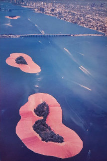 Surrounded Islands, Biscayne Bay 1980 Limited Edition Print by Javacheff   Christo