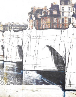 Pont Neuf 1985 Limited Edition Print - Javacheff   Christo