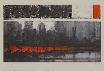 Gates Large Poster New York Limited Edition Print - Javacheff   Christo