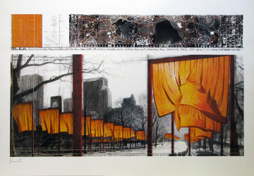 Gates (18372) Poster Limited Edition Print by Javacheff   Christo