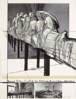 Wrapped Statues 1988 Limited Edition Print - Javacheff   Christo
