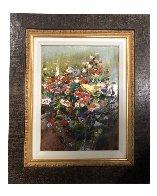 Mixed Bouquet 20x16 Original Painting by Lau Chun - 1