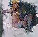 Untitled Nude 1974 36x36 Original Painting by Lau Chun - 0