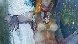 Untitled Nude 1974 36x36 Original Painting by Lau Chun - 3