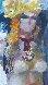 Untitled Nude 1974 36x36 Original Painting by Lau Chun - 2