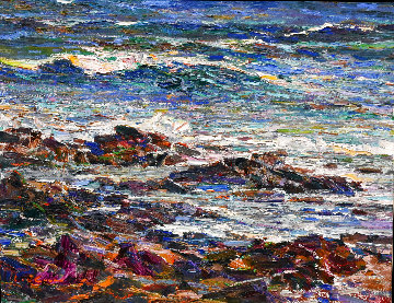 Seascape   #18 Original Painting - Lau Chun