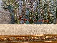 Girl on Pond 31x37 Super Huge Original Painting by Lau Chun - 3