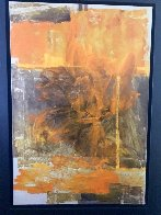 Quete De Sens 2008 47x64 Super Huge Original Painting by Viviane Cisinski - 1
