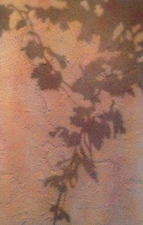Climbing Vine Shadow 2003 57x38 Original Painting - Josep Cisquella