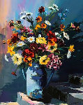 Bouquet Limited Edition Print - Christian Jequel