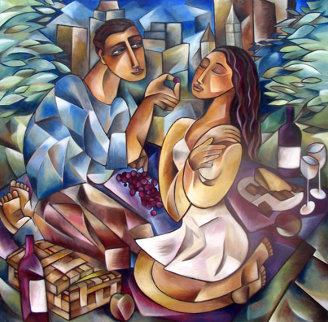 Picnic 31x31 Limited Edition Print - Stephanie Clair