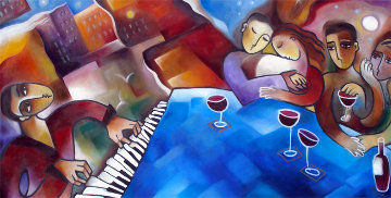 Color of Music AP Limited Edition Print by Stephanie Clair