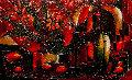 L'Abondence Parfaite 2005 36x48 Original Painting - Jean Claude Gaugy