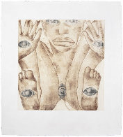 Geography Suite of 4 1992 Limited Edition Print by Francesco Clemente - 0