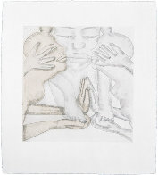 Geography Suite of 4 1992 Limited Edition Print by Francesco Clemente - 1