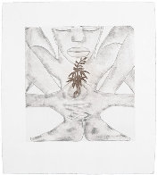 Geography Suite of 4 1992 Limited Edition Print by Francesco Clemente - 3