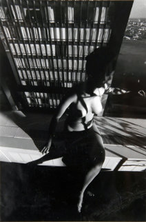 Nude on a Ledge 1977 Photography by Lucien Clergue