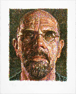 Self Portrait 2007 Limited Edition Print by Chuck Close