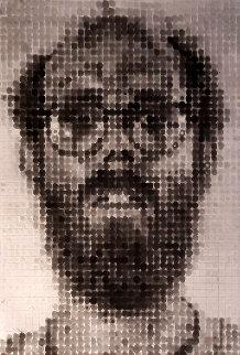 Self Portrait  Limited Edition Print - Chuck Close