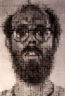 Self Portrait 1989  Limited Edition Print by Chuck Close