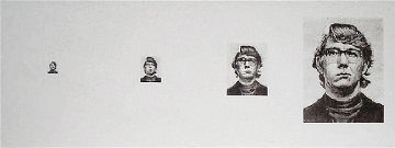 Keith Four Times 1975 Limited Edition Print - Chuck Close