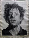 Phil (Silk Tapestry) 1991 Phil Glass 51x38 Tapestry by Chuck Close - 0