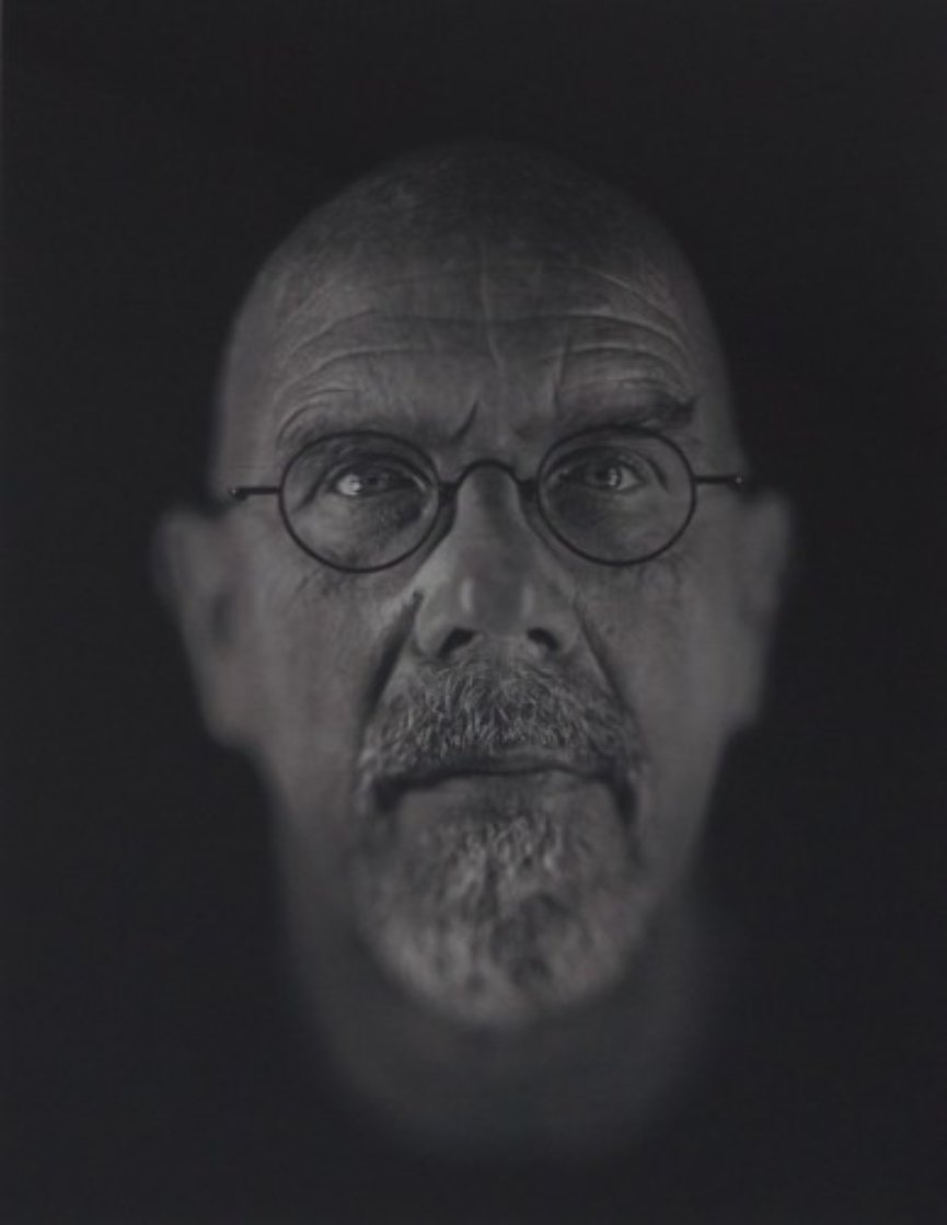 Self Portrait 2000 Limited Edition Print by Chuck Close