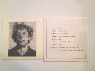 Phil 1976 Limited Edition Print by Chuck Close - 5