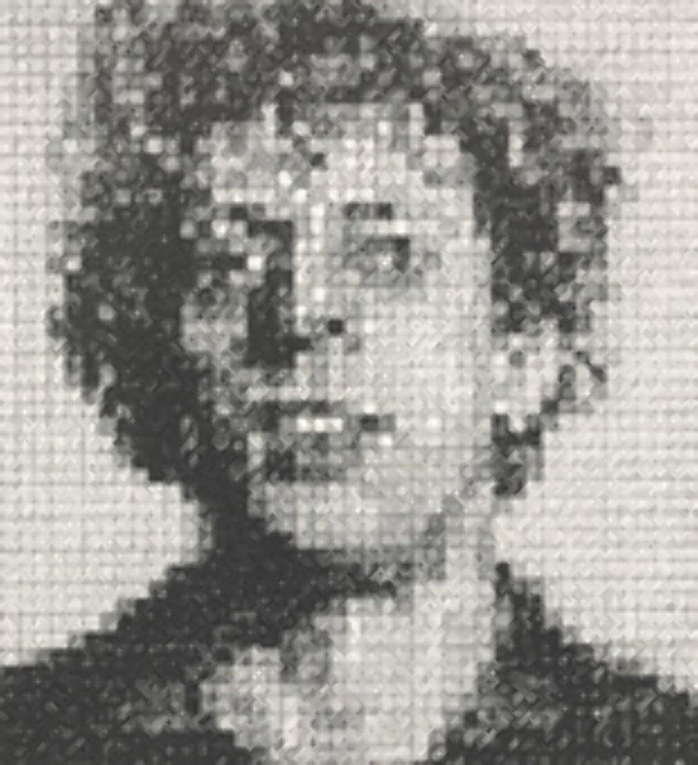 Phil 1976 Limited Edition Print by Chuck Close