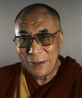 Dalai Lama 2005 Limited Edition Print by Chuck Close