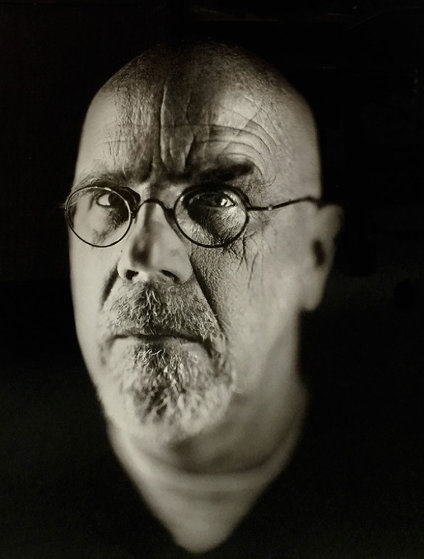 Self Portrait 2 2002 Photography by Chuck Close