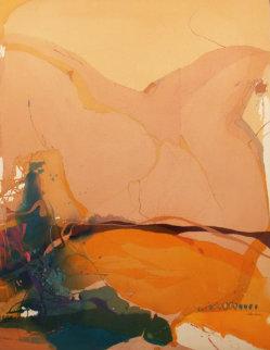 Kidskin 62x48 Original Painting - Nanci Closson