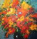 Red and Yellow III  Original Painting by Christian Nesvadba - 0