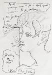 Faun a La Brindille 1939 13x11 Works on Paper (not prints) - Jean Cocteau