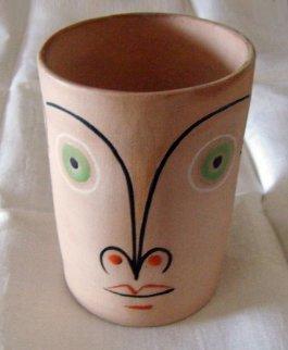Untitled Ceramic Cup 1958 Sculpture - Jean Cocteau