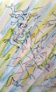 Les Centaures 1957 Limited Edition Print - Jean Cocteau
