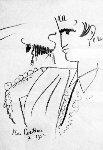 Evaluation Mutuelle 1962 Limited Edition Print - Jean Cocteau