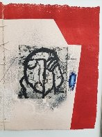 Plan Exterieur  25x59 Works on Paper (not prints) by James Coignard - 6